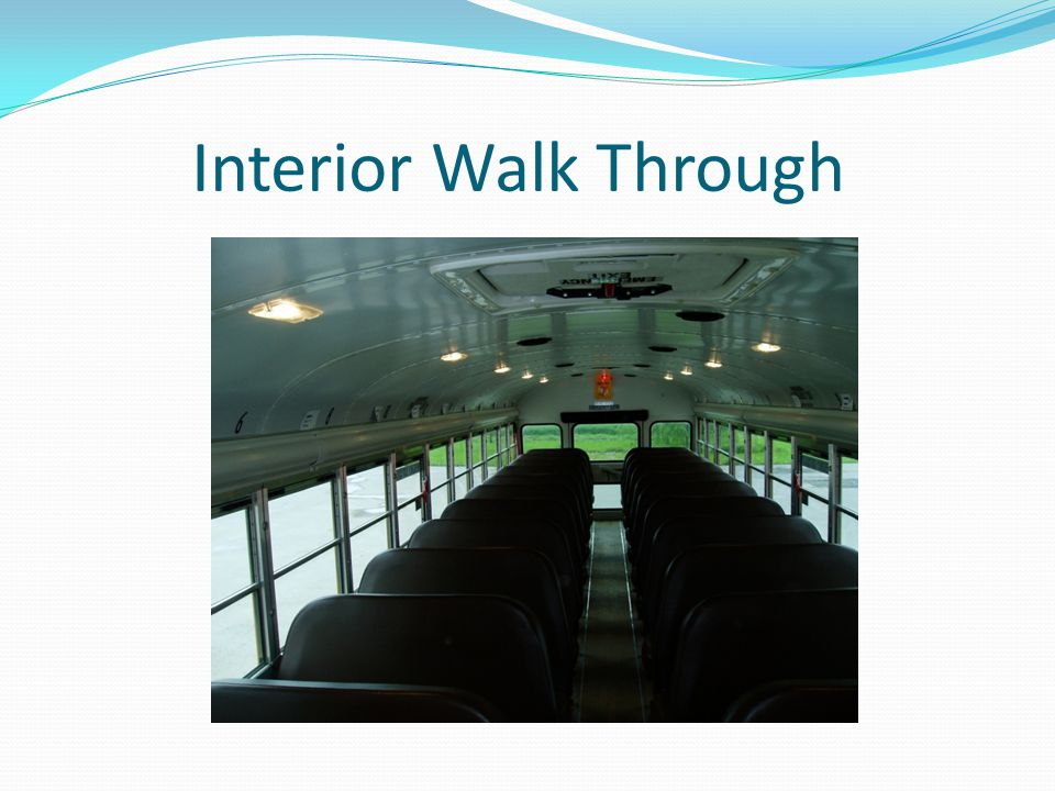 Interior Walk Through