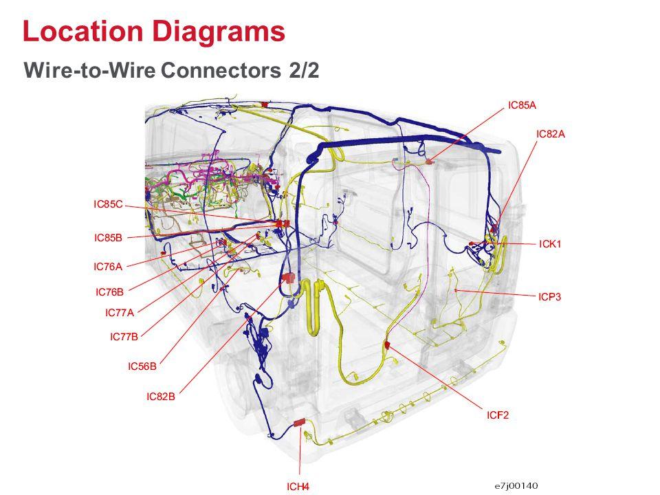 Wire-to-Wire Connectors 2/2 Location Diagrams 29