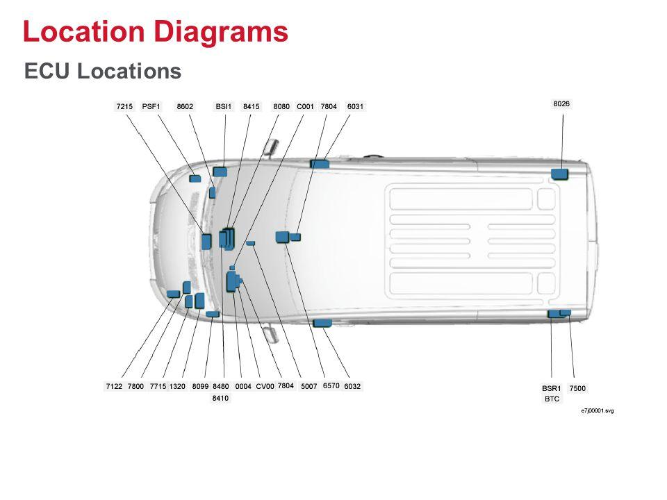 ECU Locations Location Diagrams 30