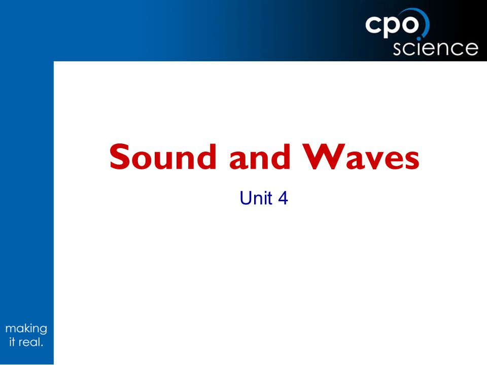 Workshop Overview Waves and Sound: Unit 4  Inv.11.1: Harmonic Motion (pendulum)  Inv.