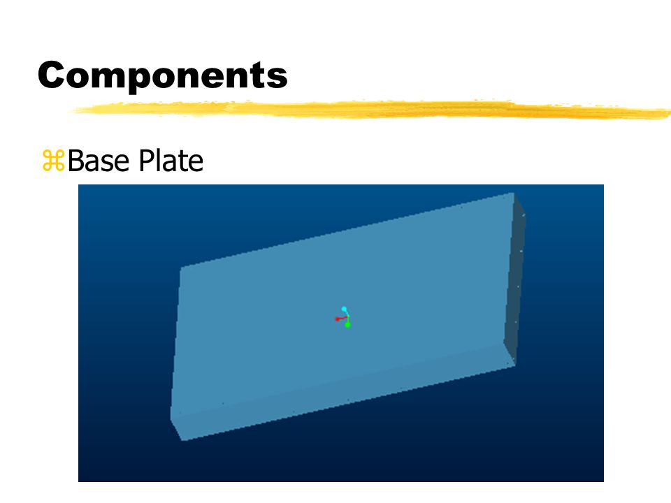 Components zBase Plate