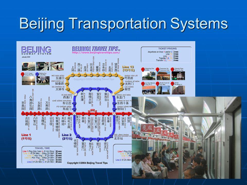 Beijing Transportation Systems