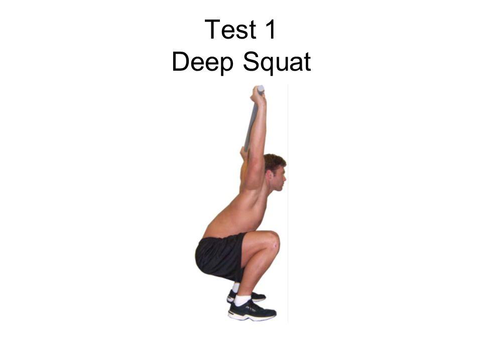 Test 1 Deep Squat