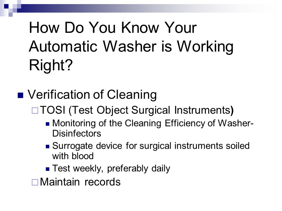 How Do You Know Your Automatic Washer is Working Right.