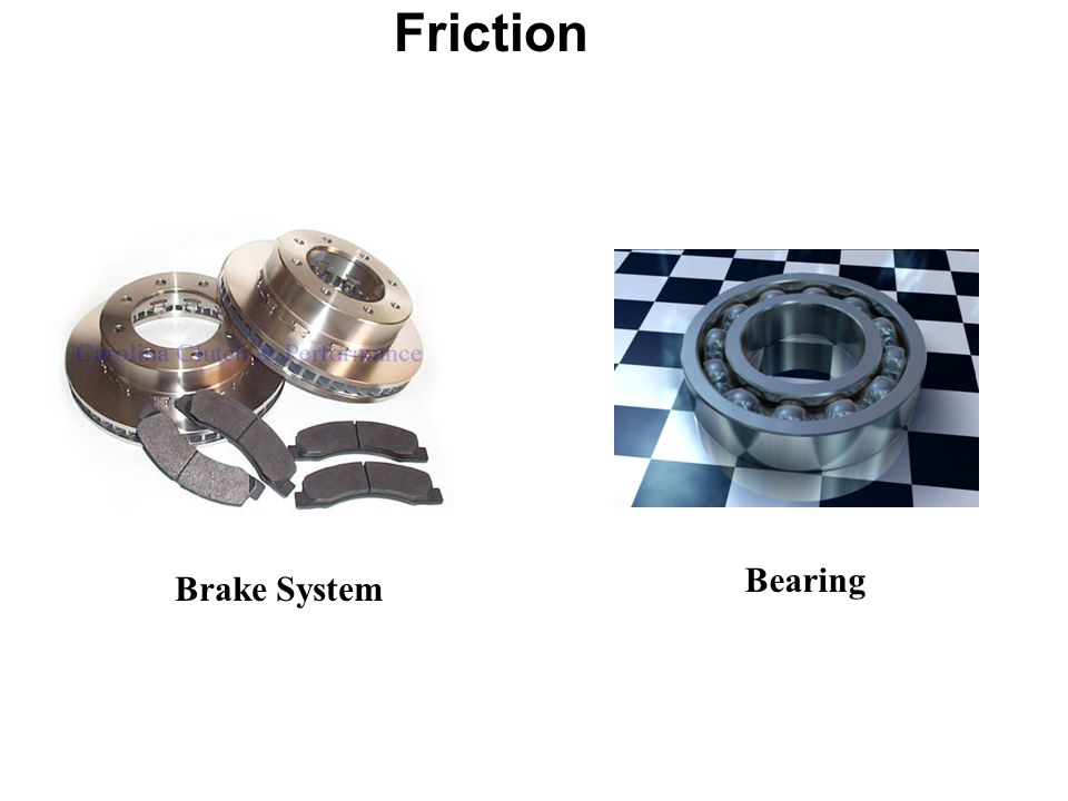 Friction Brake System Bearing