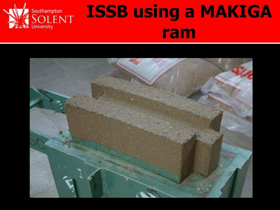 ISSB using a MAKIGA ram