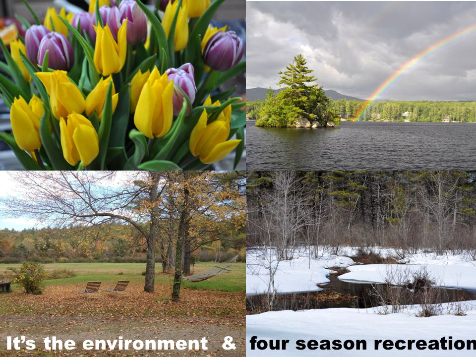 It's the environment & four season recreation