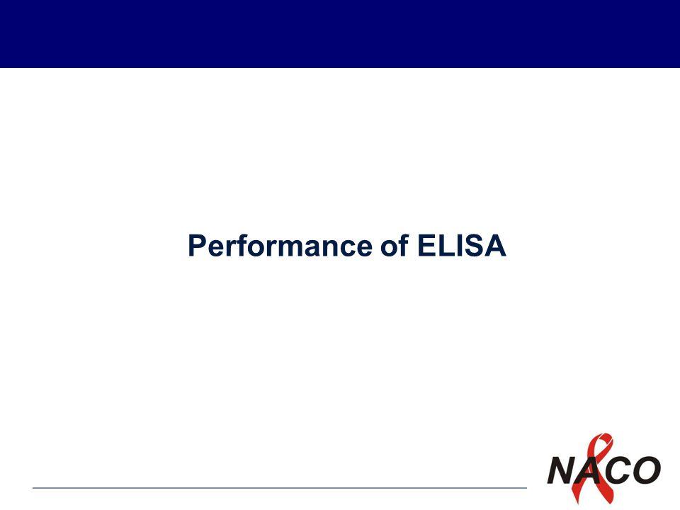 P1 Performance of ELISA