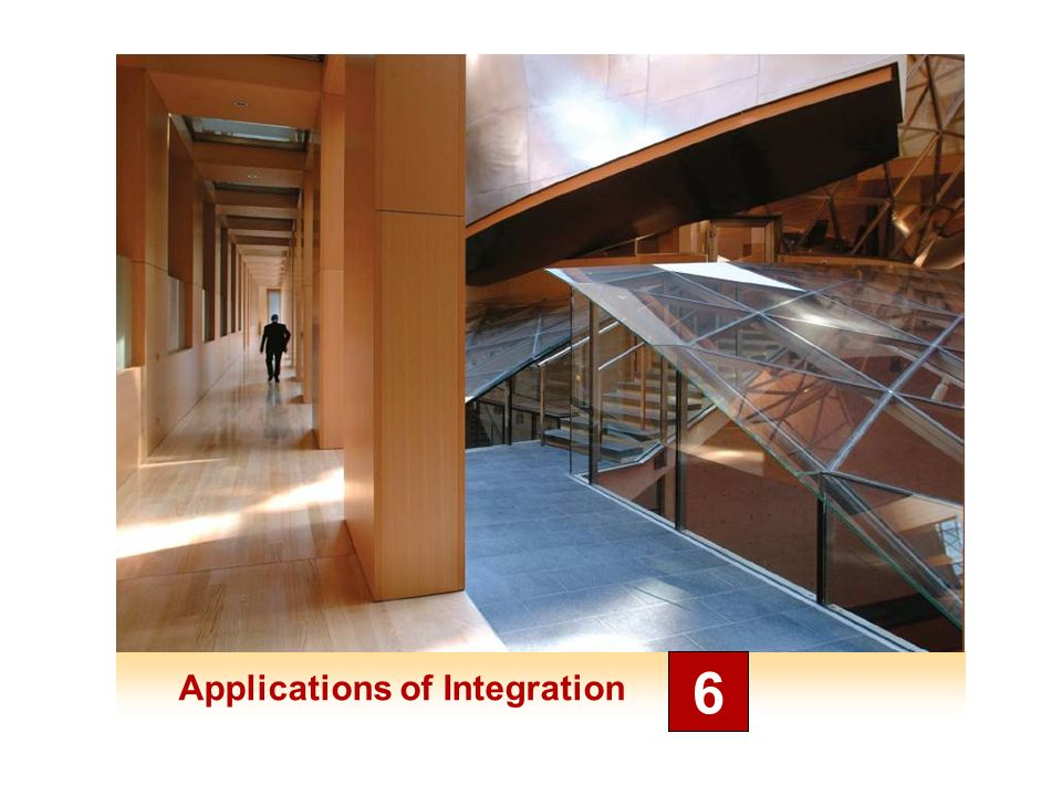 Applications of Integration 6