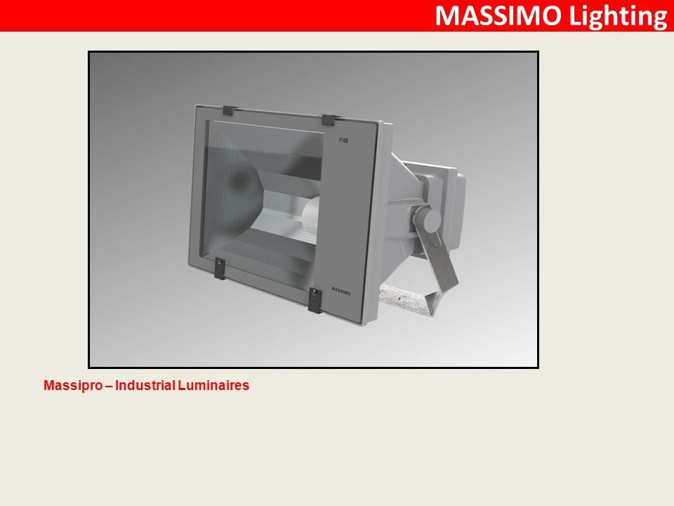 Massipro – Industrial Luminaires MASSIMO Lighting