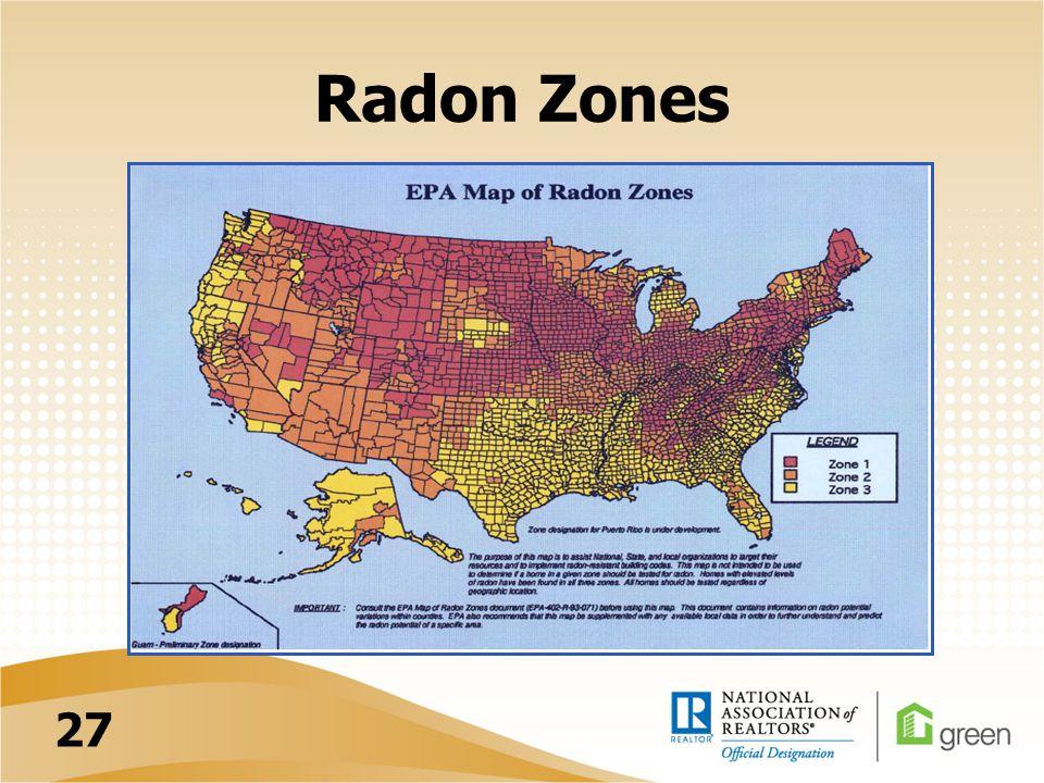 Radon Zones 27