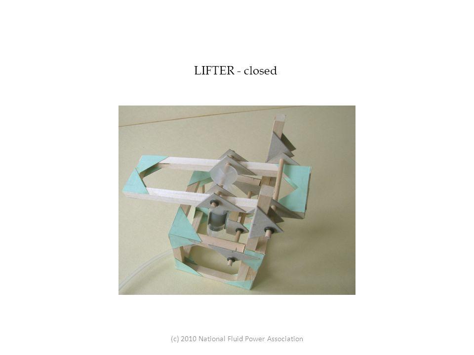 LIFTER - closed (c) 2010 National Fluid Power Association