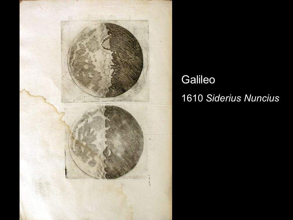 Galileo 1610 Siderius Nuncius