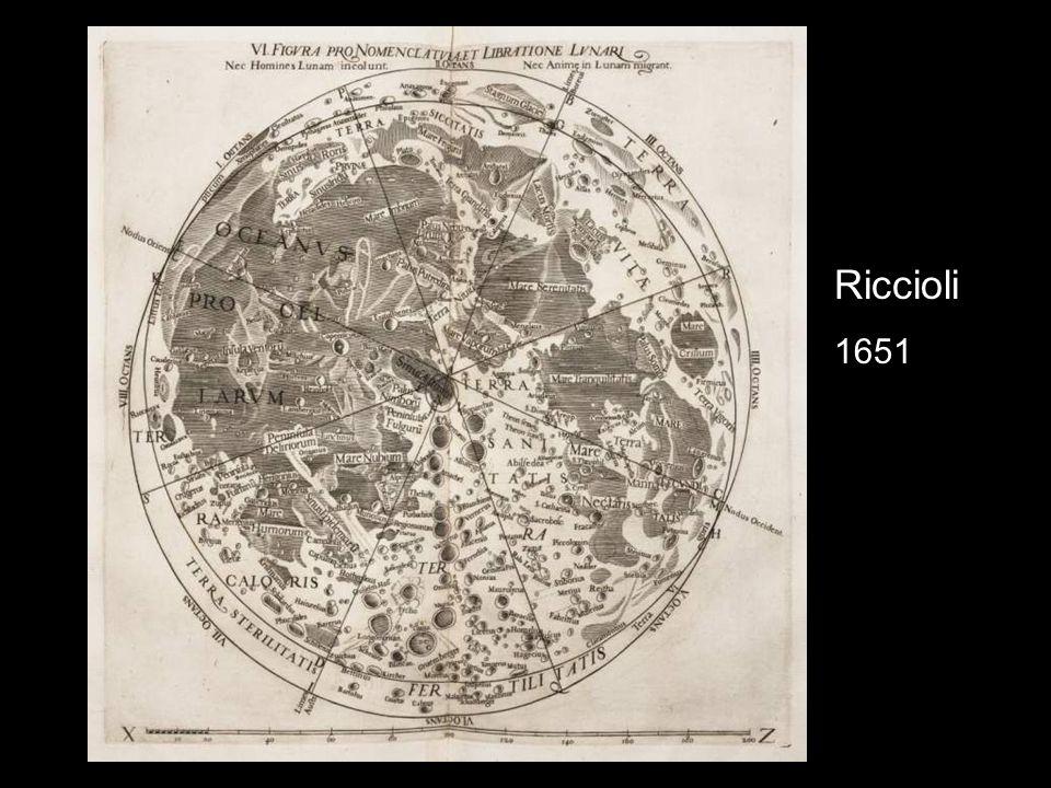 Riccioli 1651
