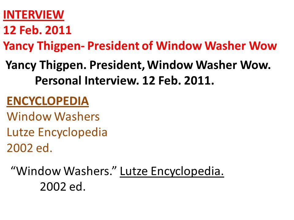 INTERNET ARTICLE -The Windows are W'Amazin - Revised 7 Jan.