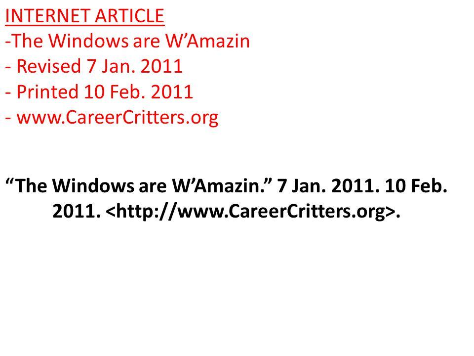BOOK -Careers in Window Washing by Jonah Dudeman - Published in 2009 in Atlanta by Walz Press Dudeman, Jonah.