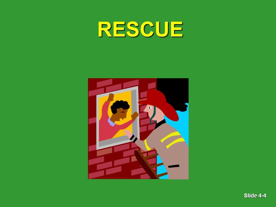 Slide 4-4 RESCUE