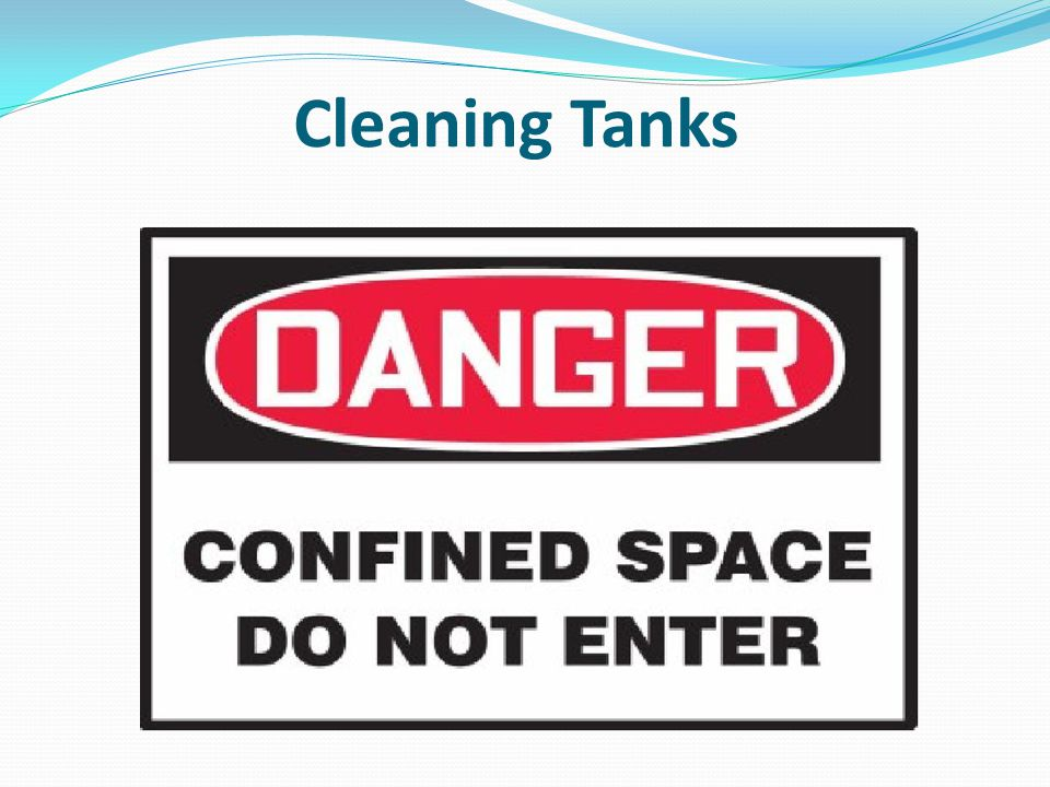 Cleaning Tanks
