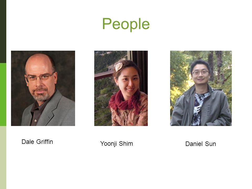 People Dale Griffin Yoonji Shim Daniel Sun