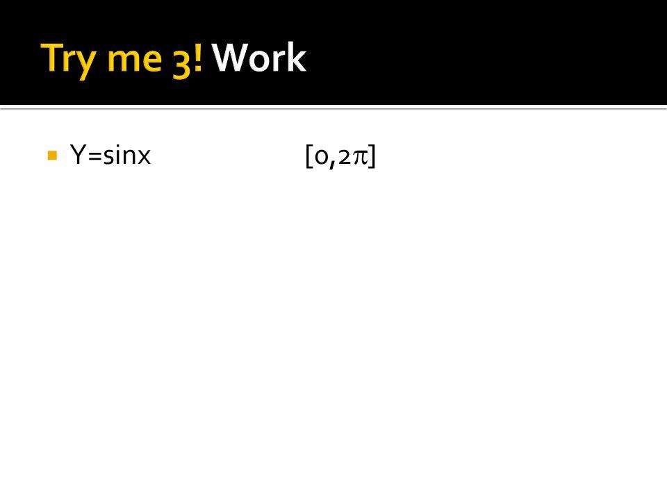  Y=sinx[0,2  ]