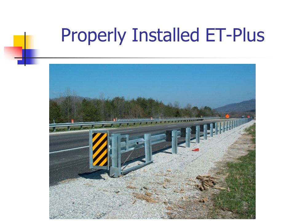 Properly Installed ET-Plus