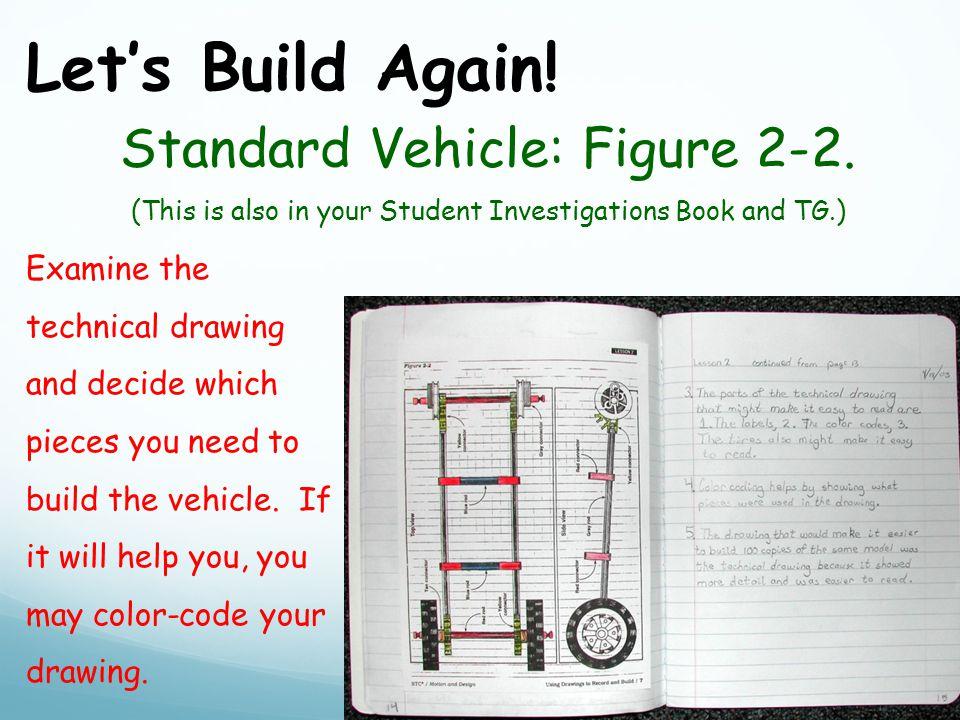 Let's Build Again. Standard Vehicle: Figure 2-2.