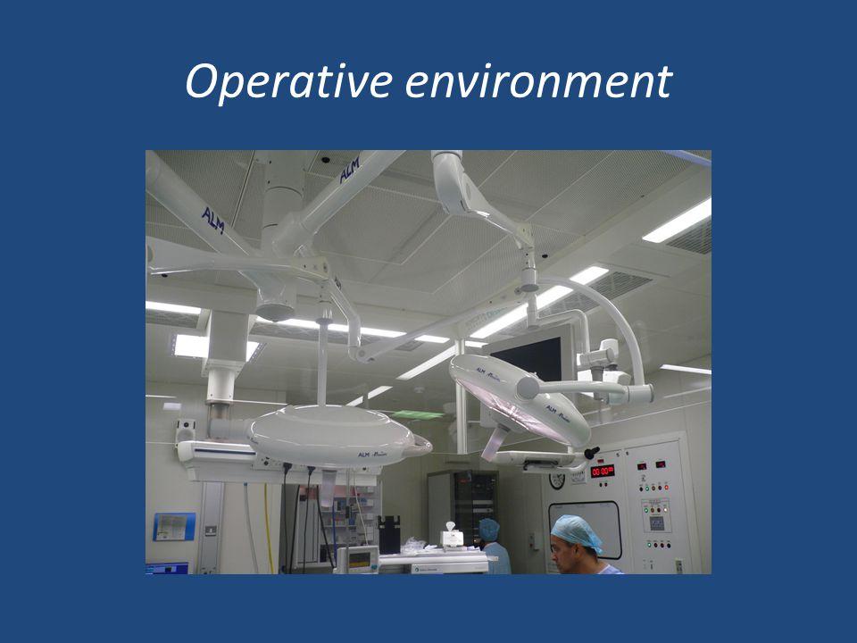 Operative environment