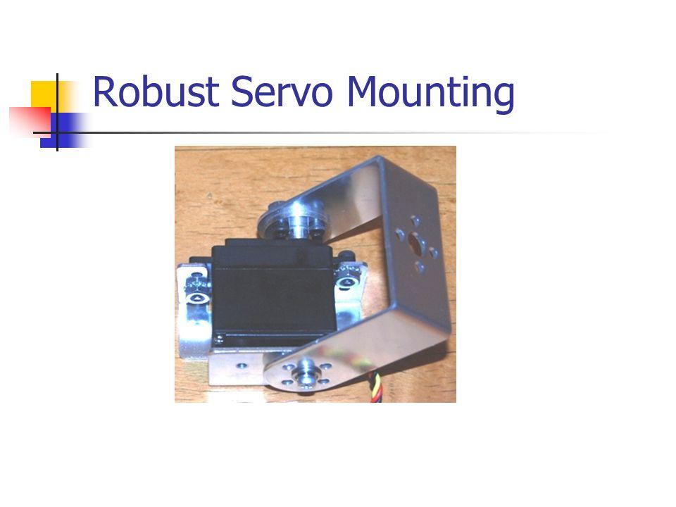 Robust Servo Mounting