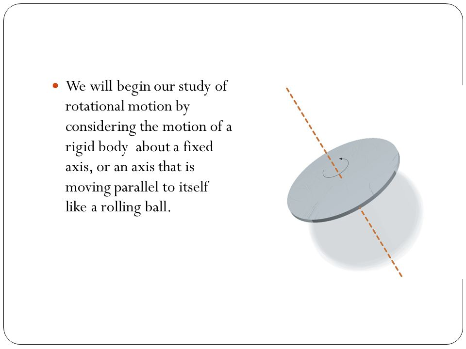 Rotational Kinetic Energy We can apply the formula for kinetic energy to rotation as well.
