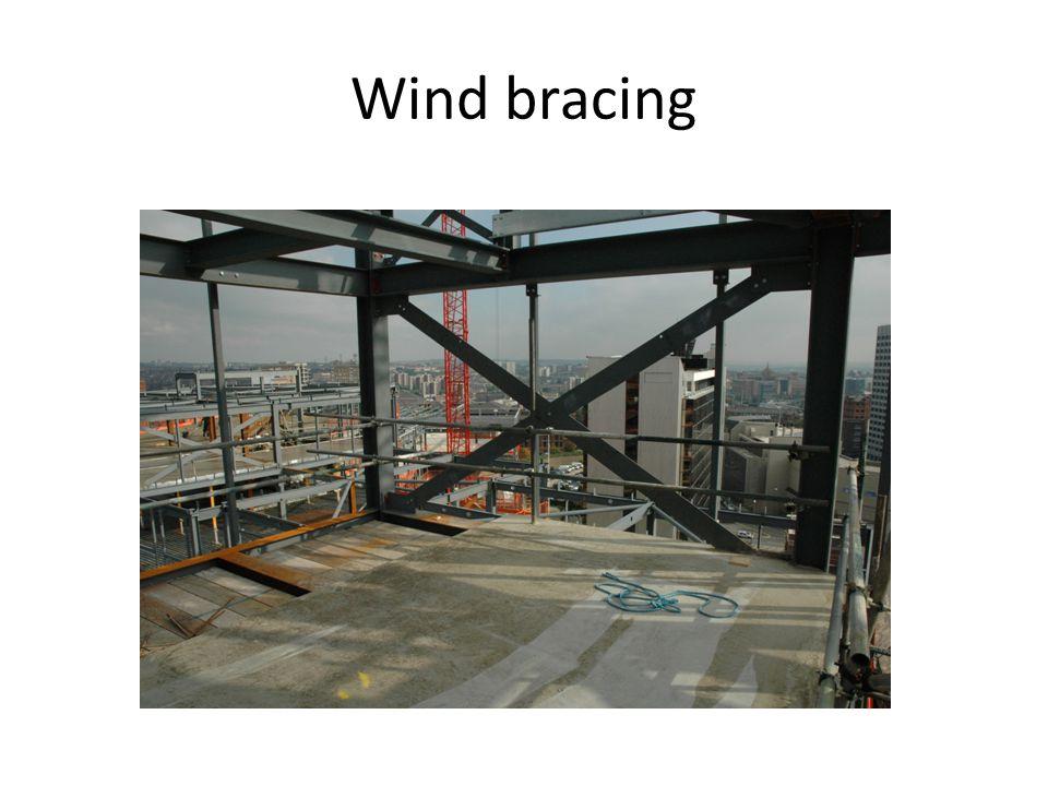 Wind bracing