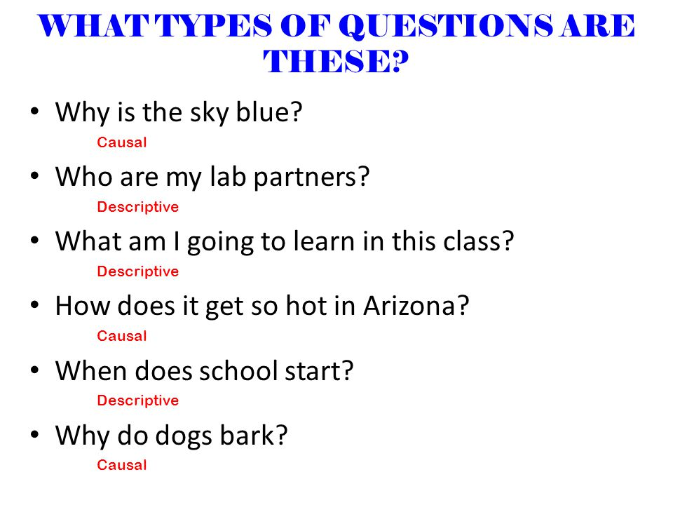 WHAT TYPES OF QUESTIONS ARE THESE.Why is the sky blue.