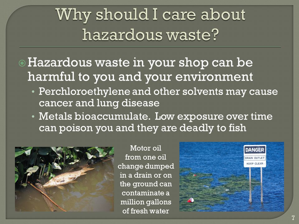 The easiest way to simplify hazardous waste management is to not generate it in the first place  Don't mix wastes – a small amount of hazardous waste mixed with a non-hazardous waste makes it all hazardous waste  Recycle or reuse material as much as possible – some recycled wastes are exempt from hazardous waste rules  Change your process or materials to use less hazardous products  Don't buy more than you need  Store hazardous materials to minimize the potential for spills 48