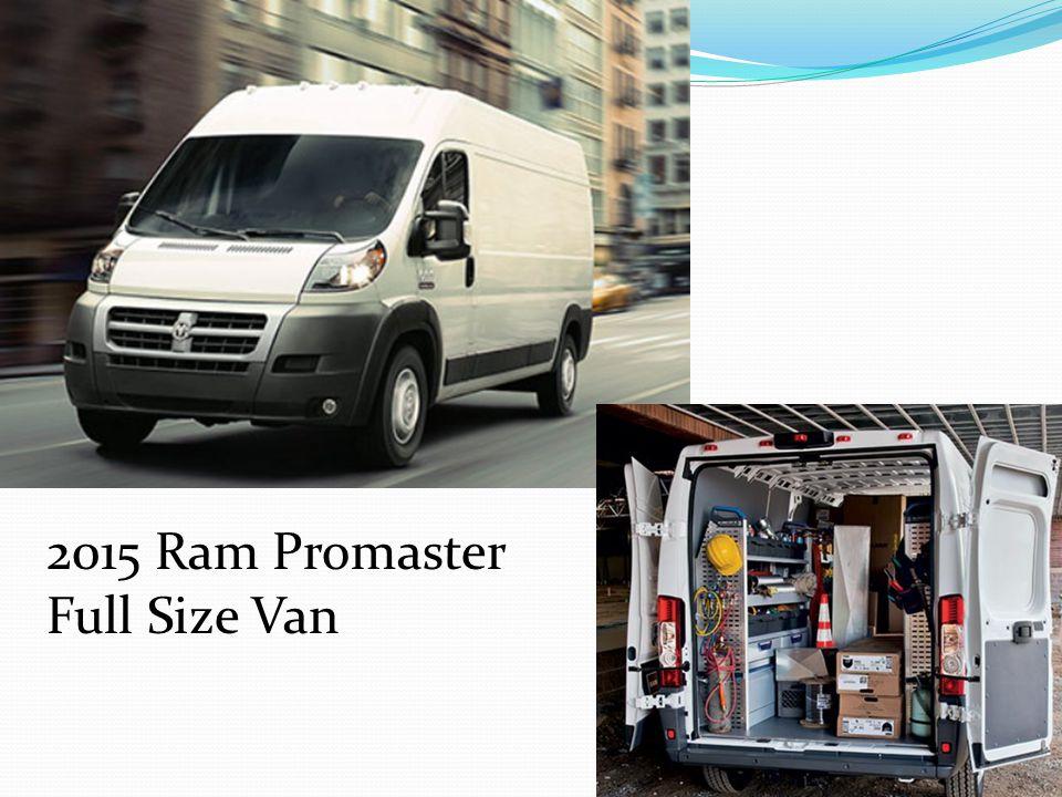 2015 Ram Promaster Full Size Van