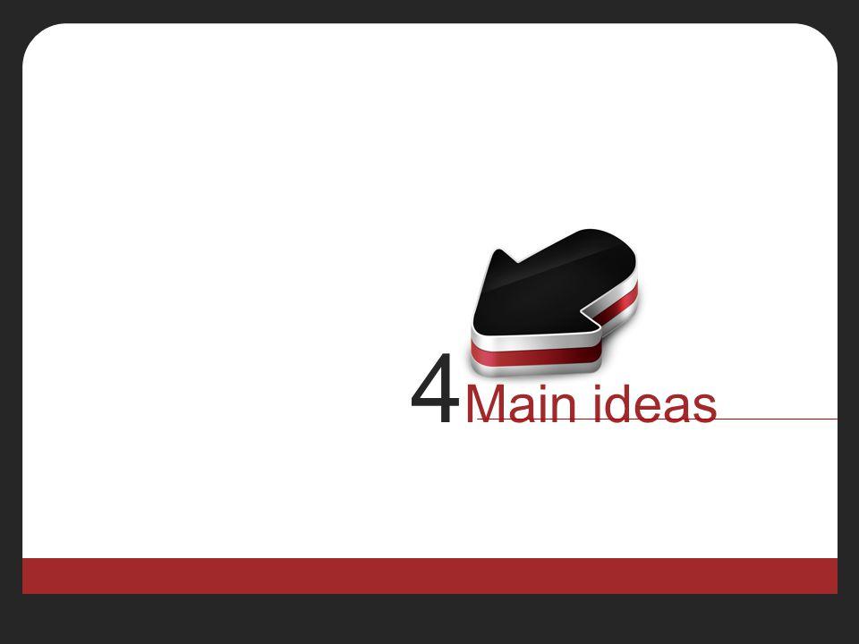 4 Main ideas