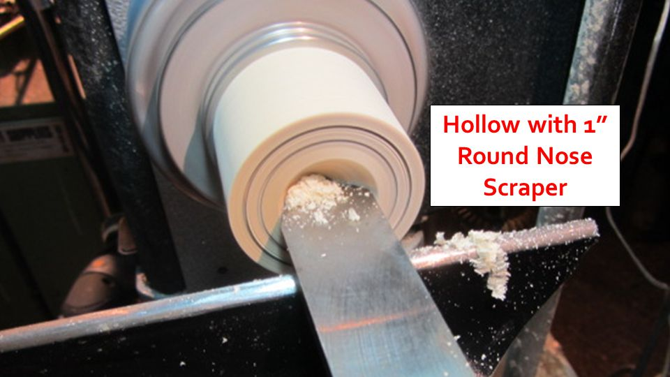 Hollow with 1 Round Nose Scraper