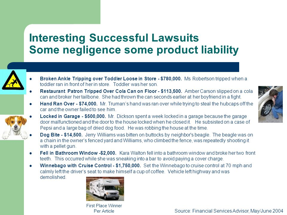 Strict Liability – Product Defect and Other Issues Product Defect.