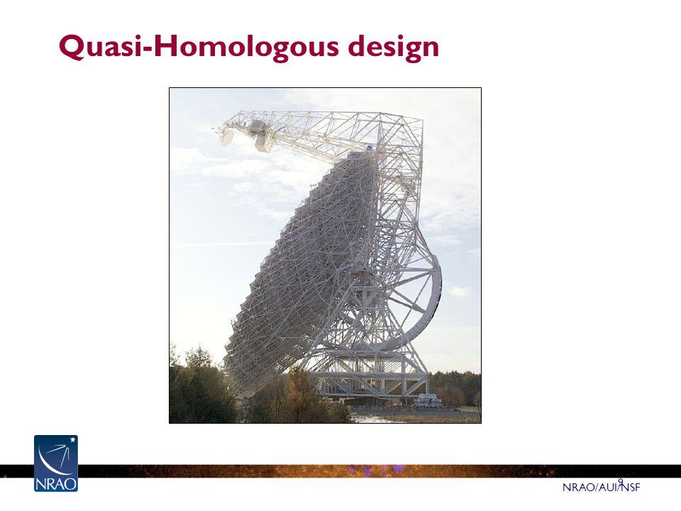 NRAO/AUI/NSF 9 Quasi-Homologous design