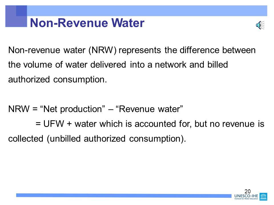 19 What is Unaccounted-For-Water.