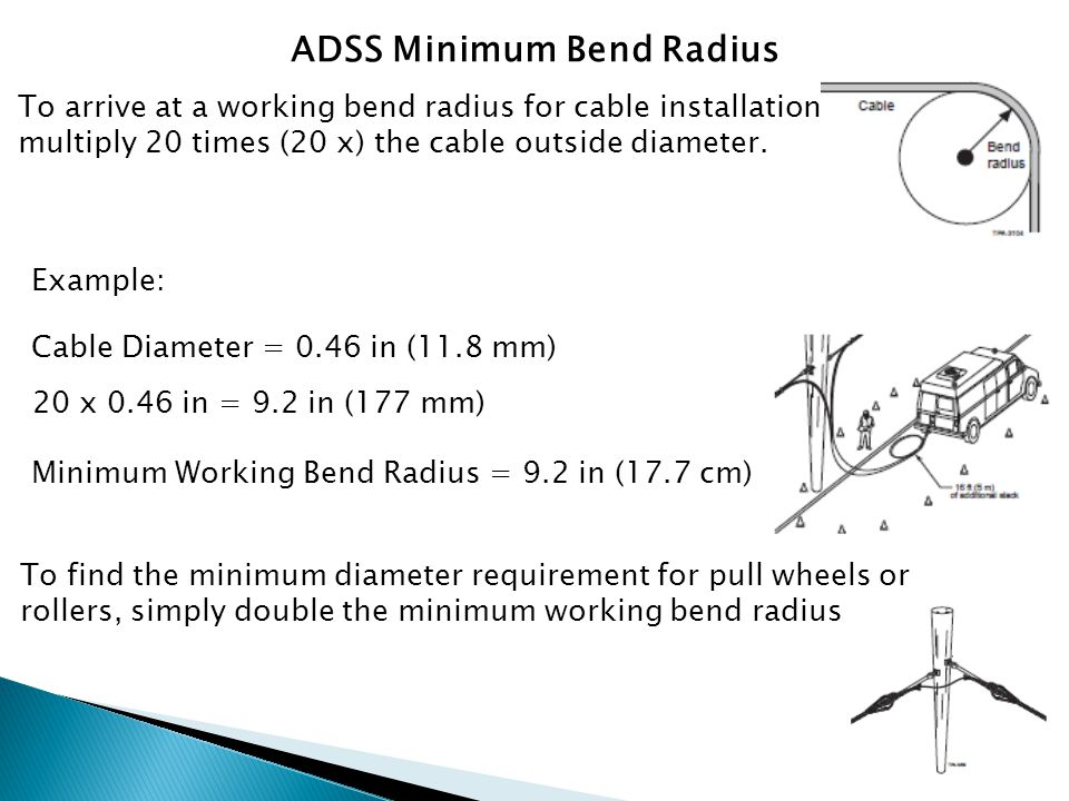 ADSS Tensions As temperature increases ADSS tension will also increase.