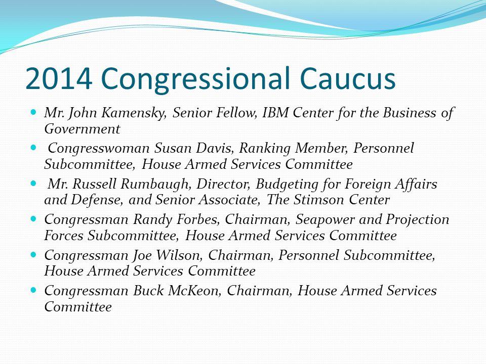 2014 Congressional Caucus Mr.