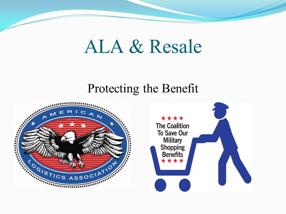 ALA & Resale Protecting the Benefit
