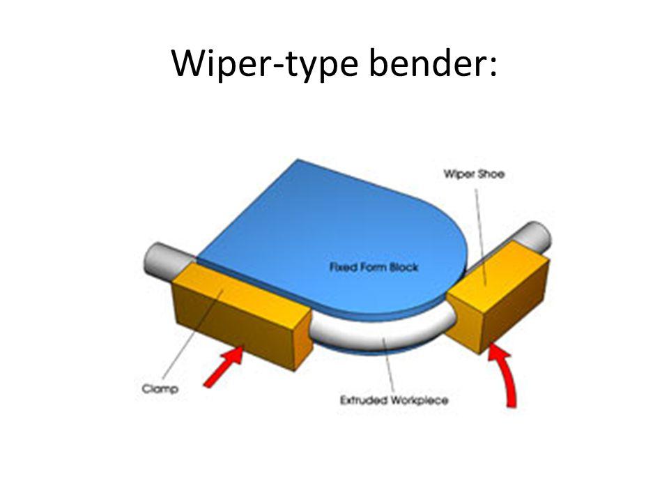 Wiper-type bender: