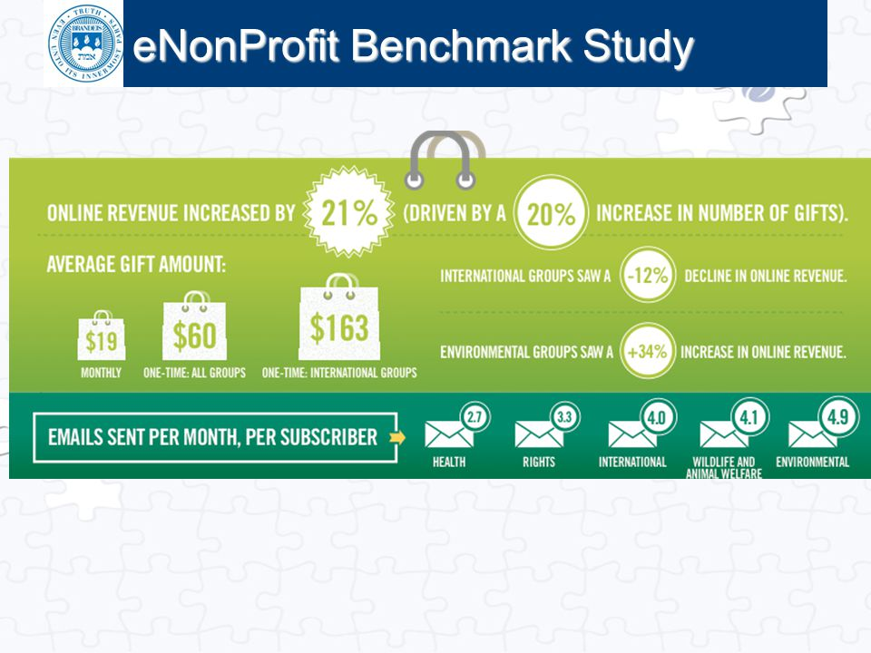 Click to edit Master title style eNonProfit Benchmark Study