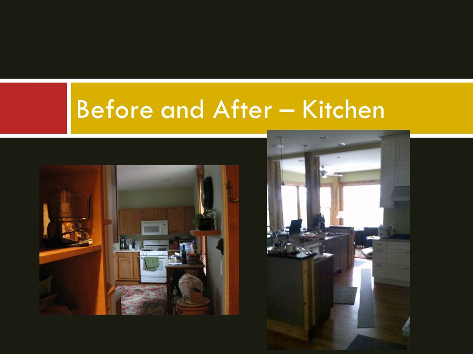 Before and After – Kitchen