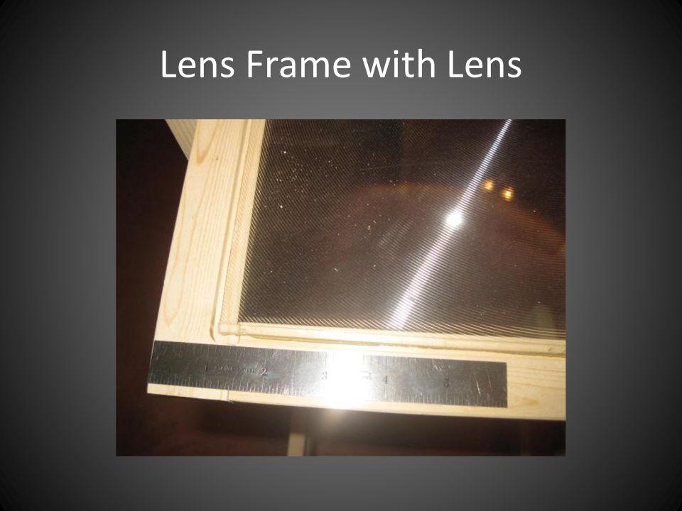 Lens Frame with Lens