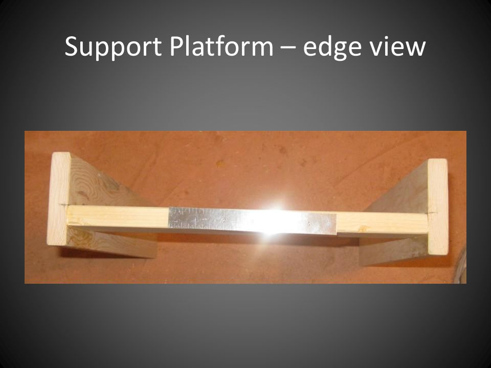 Support Platform – edge view