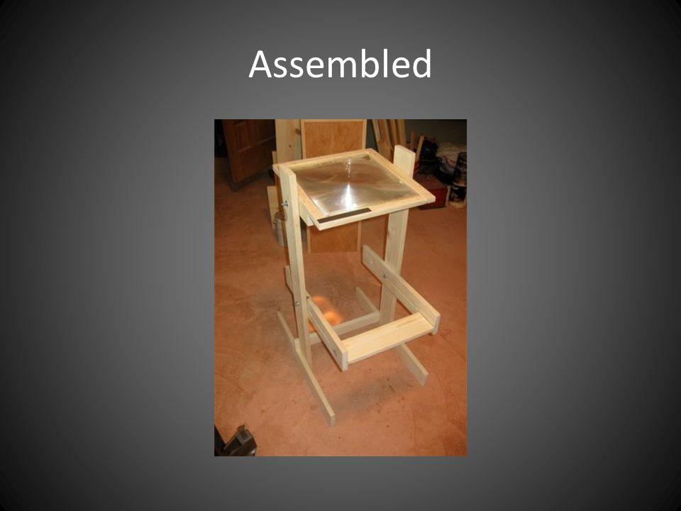 Assembled