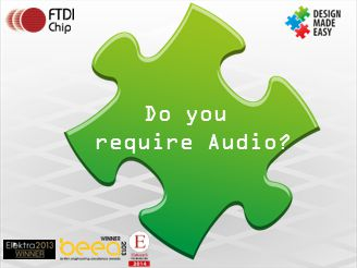 Do you require Audio?