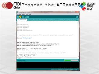 Program the ATMega328