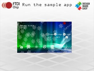 Run the sample app
